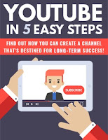 YouTube In Five Easy Steps - Free Plr