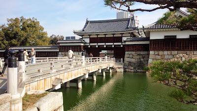 広島城の門