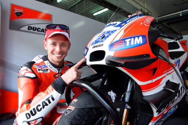Stoner : Sulit membandingkan Ducati Dulu dan Sekarang