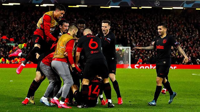 Liverpool vs Atlético Madrid – Highlights