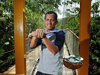Arif Kirdiat, Relawan Pembangun Jembatan di Pedalaman Banten