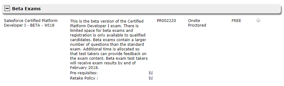 Infallible Techie: Salesforce Certified Platform Developer I - BETA