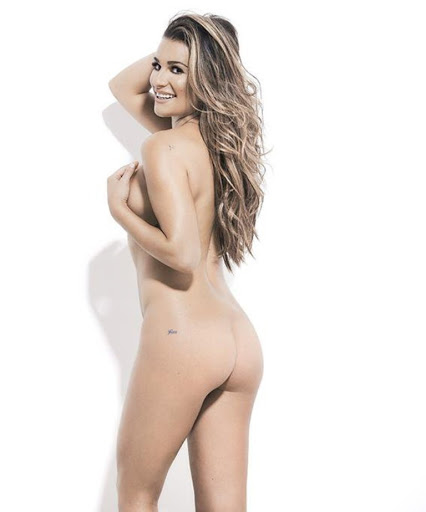 Lea Michele naked photo shoot for Women's Health UK Magazine