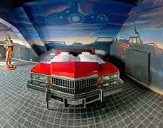V8 hotel, Stuttgart, Germany is a fantasy for automobile zealots. Each and every room takes a look of a vintage car, drive through cinemas or sport cars.