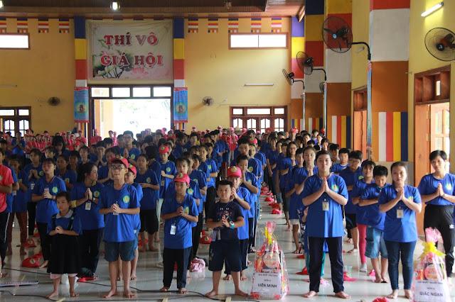 Hơn 1000 trại sinh tham dự lễ khai mạc Hội trại Tuổi trẻ Phật giáo Hệ phái Vĩnh Nghiêm lần 3 với chủ đề 'Về Nguồn' - Ảnh 7
