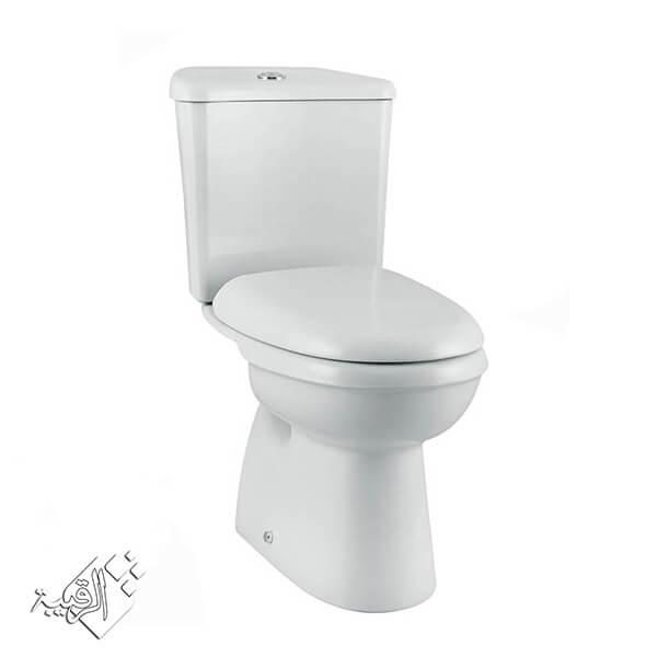 مرحاض كليوباترا أبيض موديل كرونس