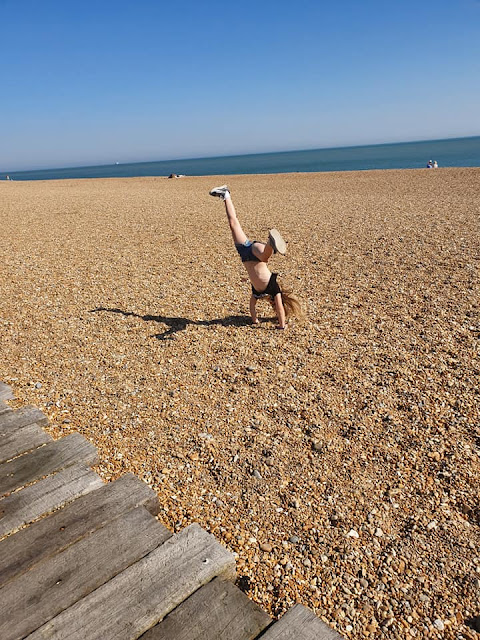 cartwheels-on-beach-folkestone