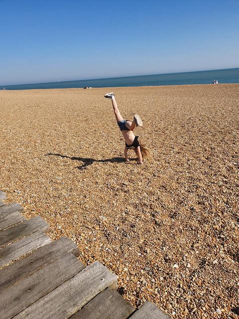 cartwheels-on-beach-folkestone
