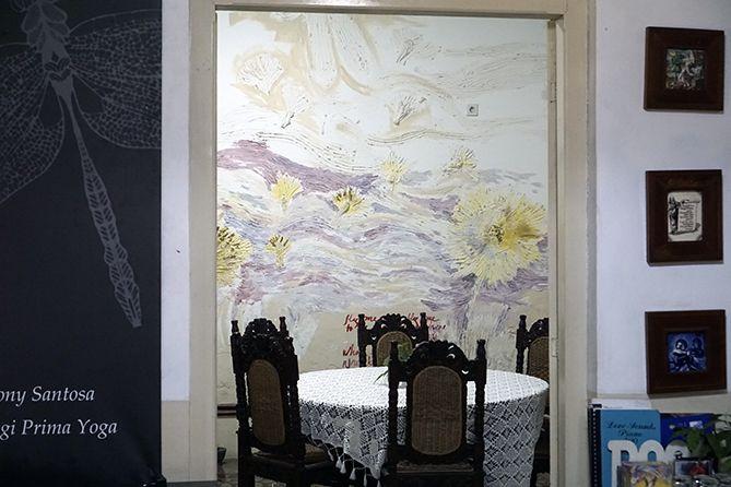 Konsep ruangan di 1915 Arts-Koffie-Huis Salatiga terbuka