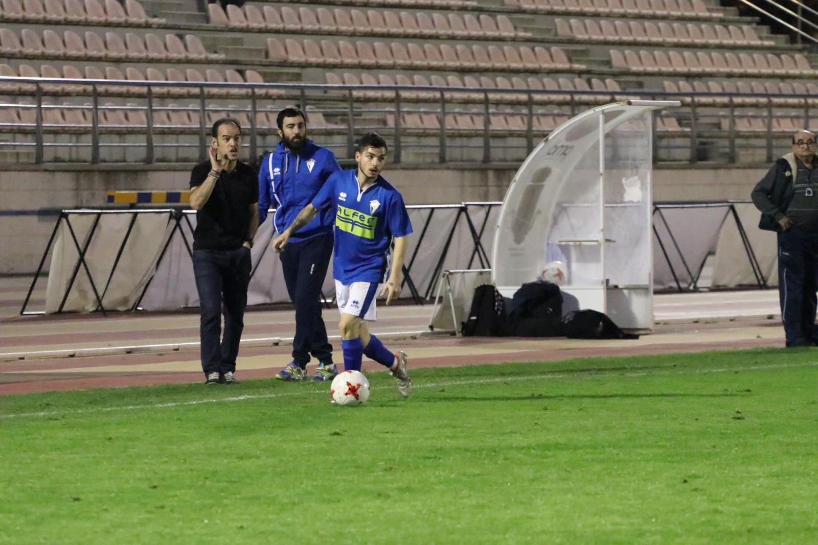 Ivan Murillo autor del gol de la victoria (Foto Juan Gallardo)