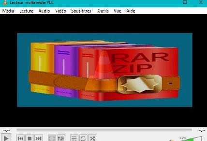 تشغيل الفيديوهات و الافلام المضغوطة VLC) Rar)