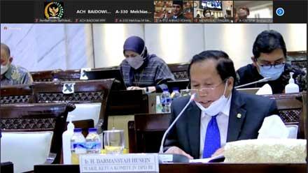 Komite IV DPD RI Paparkan Pandangan Terhadap RUU HKPD