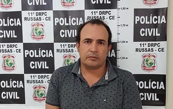Estelionatário procurado em três estados é preso em Russas