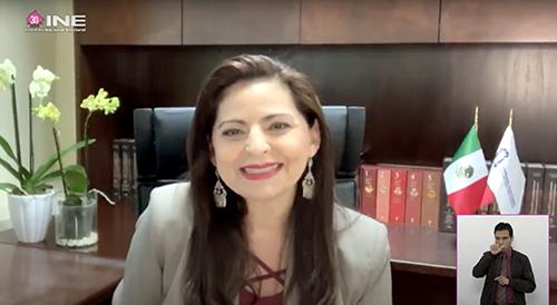 Magistrada de la Sala Superior del Tribunal Electoral del Poder Judicial de la Federación, Mónica Aralí Soto Fregoso