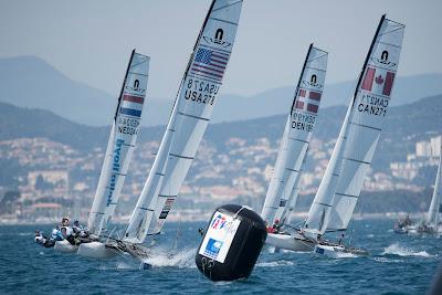 Sailing World Cup à Hyères.