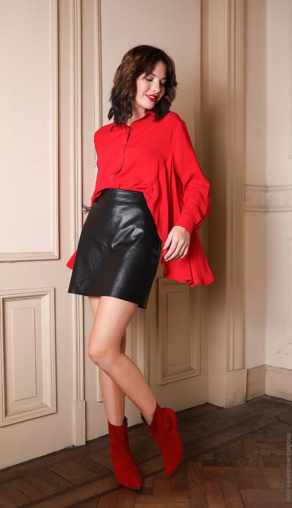 Ropa de moda otoño invierno 2018 estilo casual y femenino para mujer. Moda otoño invierno 2018.