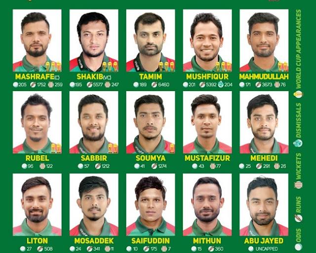 Bangladesh best cricket players 2019