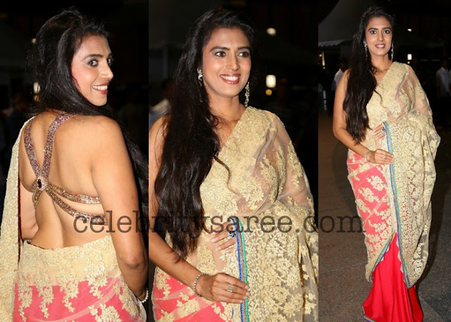 Kasthuri Backless Blouse