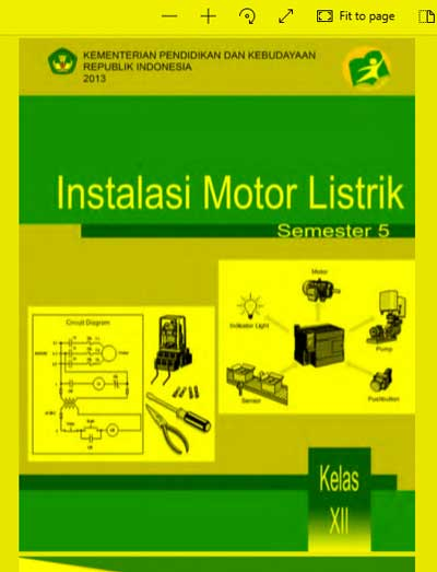 Buku Siswa Instalasi Motor Listrik SMK Kelas 12 (XII) Semester 5 Kurikulum 13