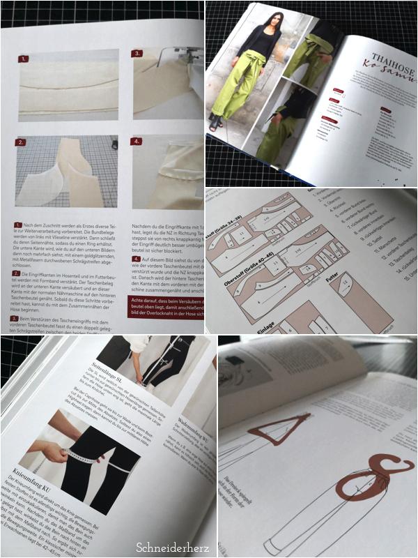 Hosen nähen von Vivien Altmann- Einblicke ins Buch