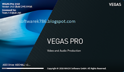 SONY VEGAS PRO 14 video editing software