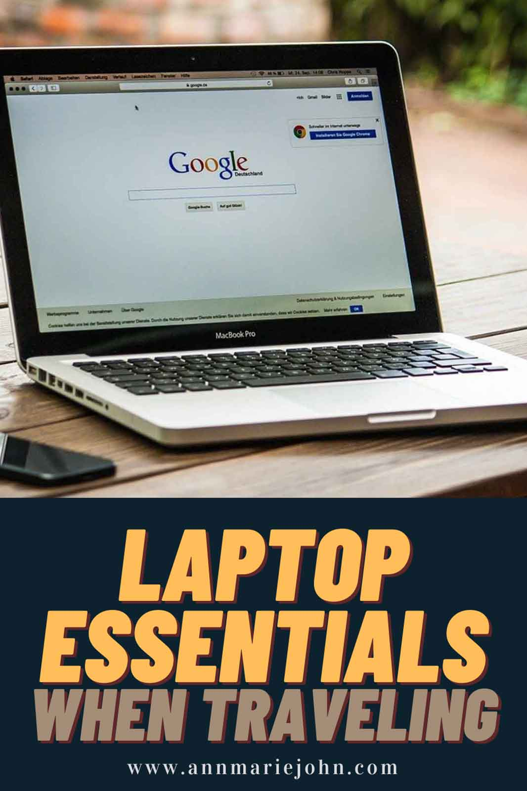 Essential Items to Bring With Your Laptop When Traveling