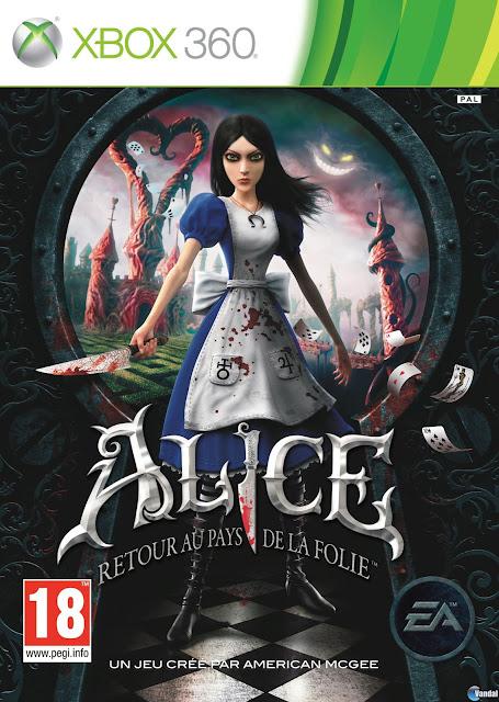 Alice Madness Returns - Xbox 360 - Multi5 - Portada