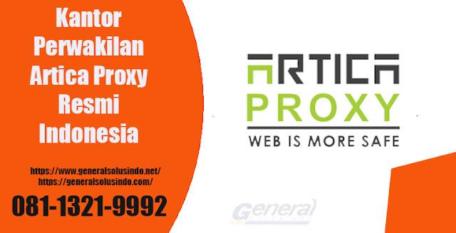 Kantor Perwakilan Artica Proxy Resmi di Indonesia