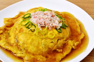 Resep Tenshinhan (Omelette Daging Kepiting) Ala Rumahan