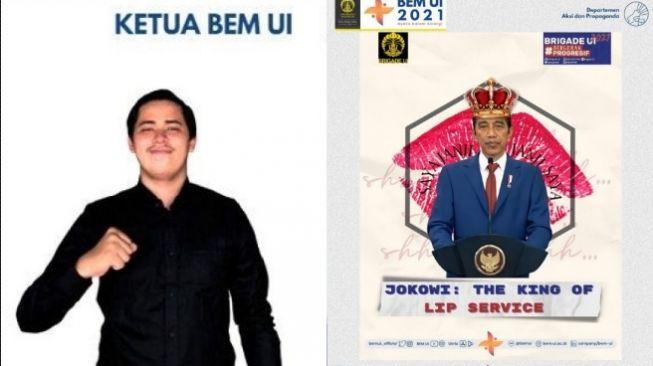 Benarkah BEM UI Dapat Proyek Miliaran Usai Kritik Jokowi? Begini Jawaban KKP