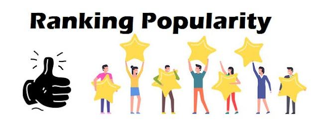 Ranking Popularity