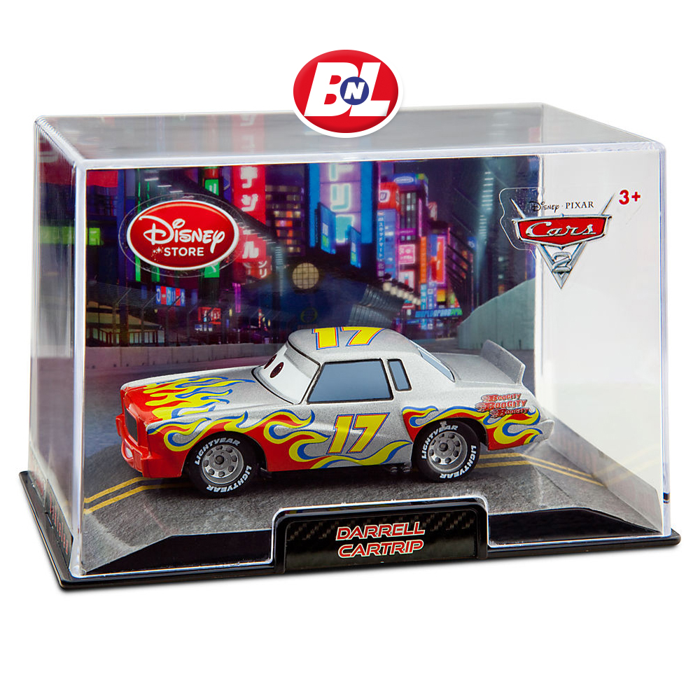 WELCOME ON BUY N LARGE: Cars 2: Darrell Cartrip