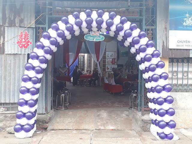 Dịch vụ cổng bóng cưới tại Hà Nội