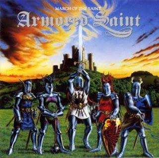"""Ο δίσκος των Armored Saint """"March of the Saint"""""""