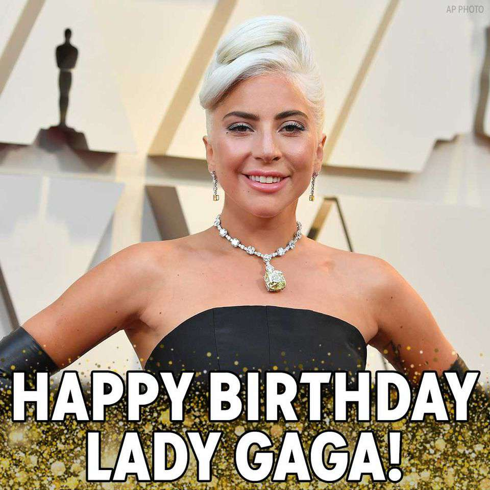 Lady Gaga's Birthday Wishes Awesome Picture