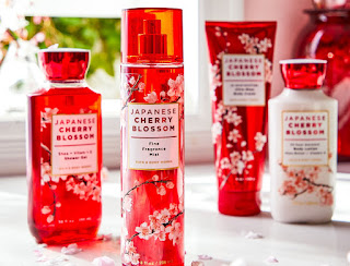 Bath & Body Works | New Japanese Cherry Blossom Signature Body Care Packaging Re-Design | Coming Soon | Spring 2020