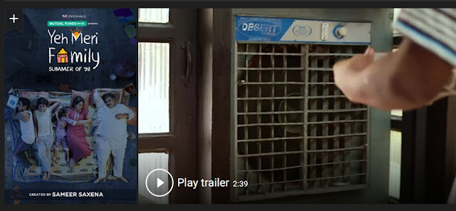 Play Yeh Meri Family (2018) Indian Hindi Web Series Trailer online for free