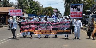 Wagub dan Wali Nanggroe Sudah Setuju Tolak WAHABI, Gubernur Belum