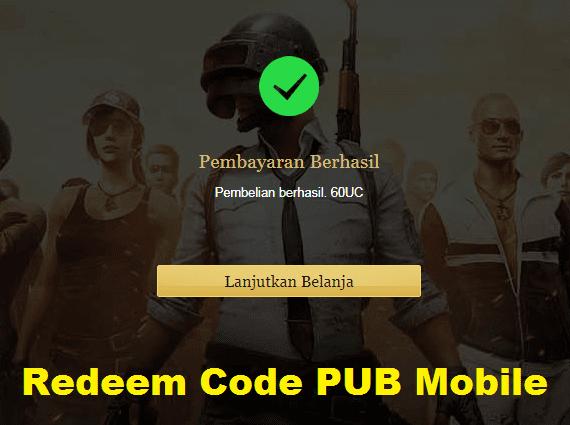Kode Redeem PUBG Mobile Terbaru 2020