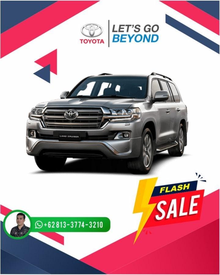 Harga Promo Toyota Land Cruiser Bali