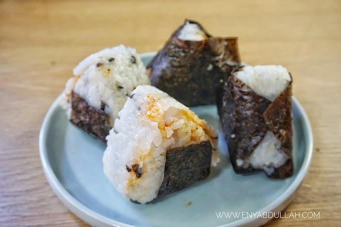 Onigiri Japanese Rice Balls Sambal Kerang Adabi