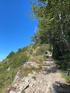 Approaching Canto Alto - last stretch before reaching the peak