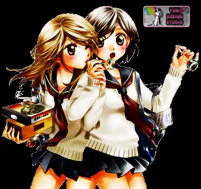 Render - Mari x Akko