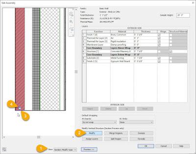 解耦Revit墙层以实现垂直偏移插图(1)