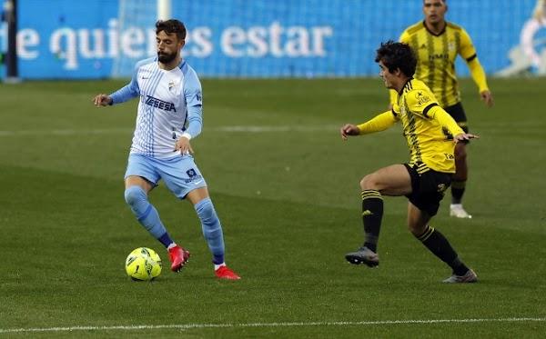 El Málaga suma un punto para cerrar la primera vuelta ante el Oviedo (1-1)