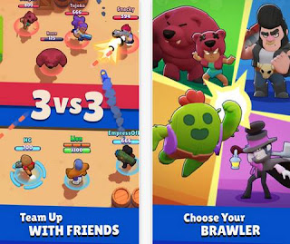 Free Download Brawl Stars Android APK Terbaru Gratis Full Mod APK+DATA