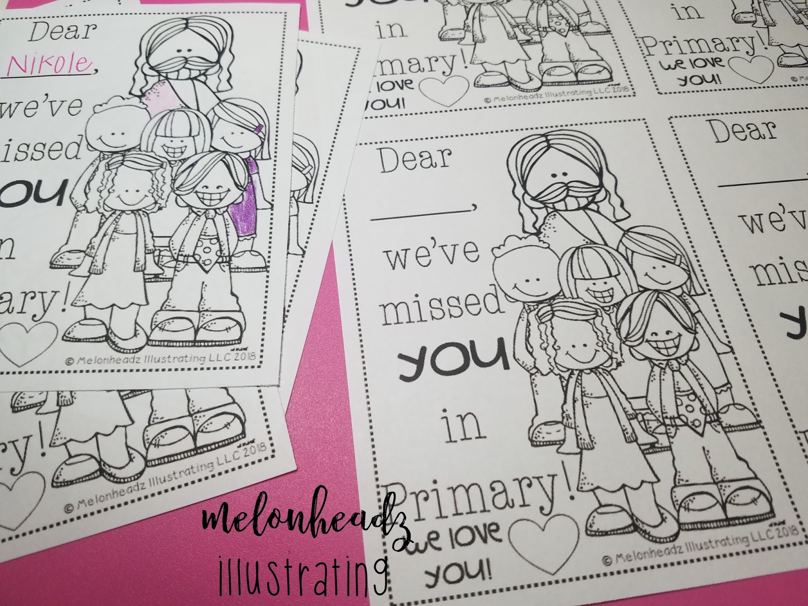 Lds Coloring Pages Pdf : Melonheadz lds illustrating