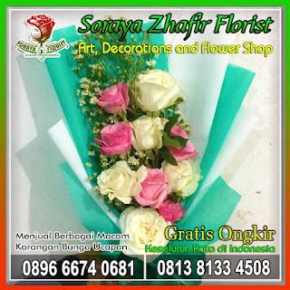 Toko karangan Bunga buket di bekasi