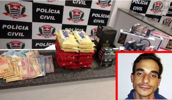 Polícia Militar age rápido e prende ladrão dentro de mercado em Mogi-Guaçu