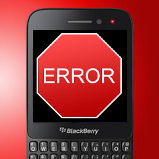 Cara  Cek Error di Hp BlackBerry dan Solusinya
